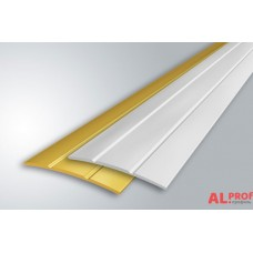 Алюминиевый порог 30х5 мм с открытым типом, 2.00 м