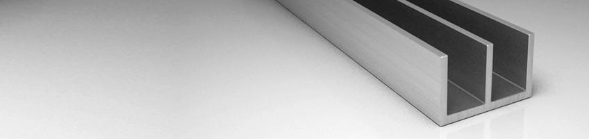 Ш образные профиля алюминиевые