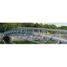 В России наконец был возведен и установлен первый алюминиевый мост