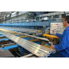 Производство алюминиевого профиля и область его применения