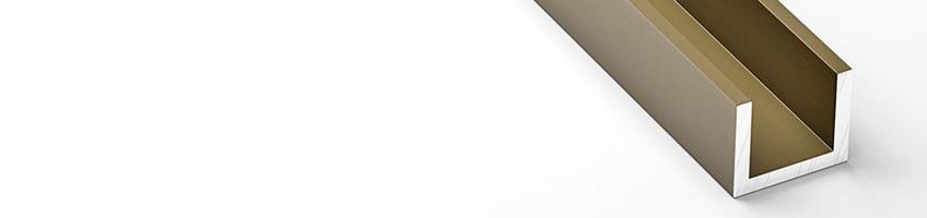 Анодированный швеллер