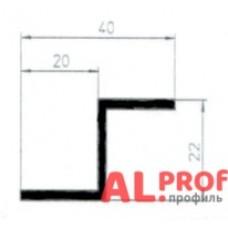 Z-образный профиль 40x20x22x2
