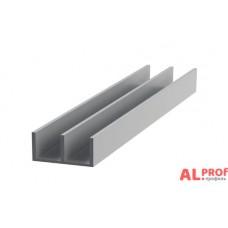 Ш-образный некрашенный низ алюм. 28,9x12x1,5